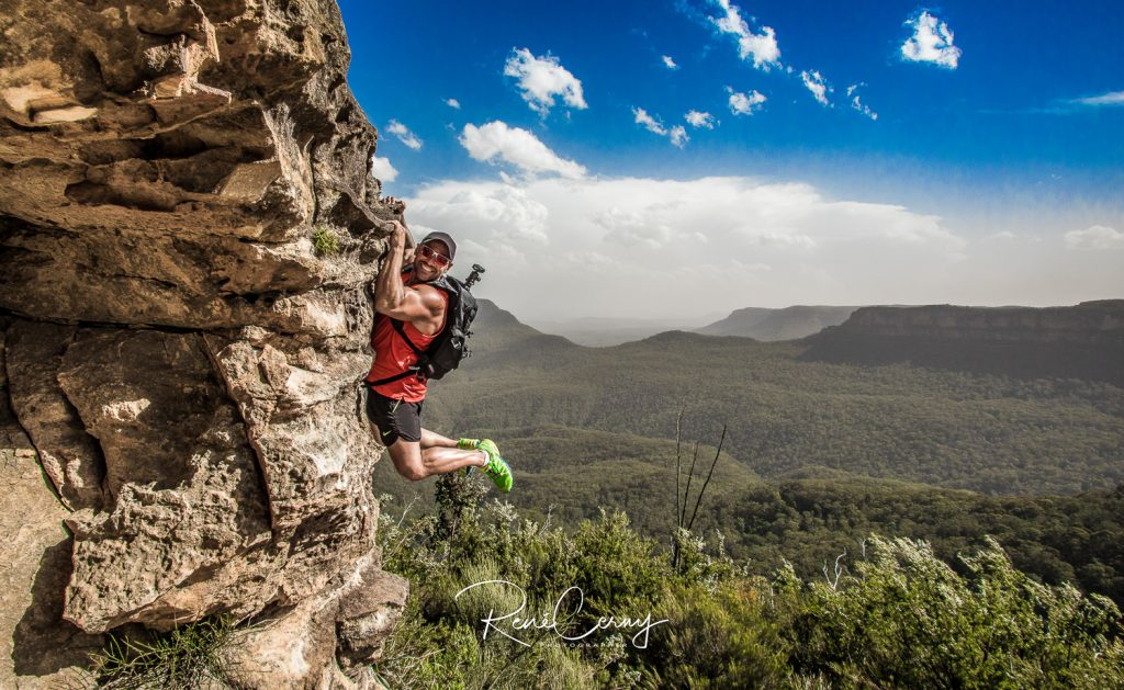 Berge von Blue Mountains in Australian